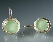 Oceana Earrings by Amy Faust (Silver & Glass Earrings)