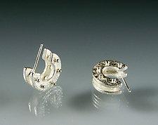 Double Hoops by Amy Faust (Silver Earrings)