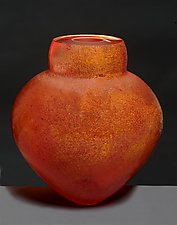 Catalonia Emperor Bowl by Randi Solin (Art Glass Vessel)