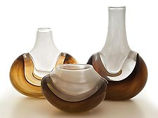 Horizon Series by Michael Richardson, Justin Tarducci and Tim Underwood (Art Glass Vase)