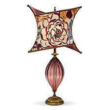 Tori by Susan Kinzig and Caryn Kinzig (Mixed-Media Table Lamp)