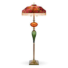 Benny by Susan Kinzig and Caryn Kinzig (Mixed-Media Floor Lamp)