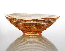 Epidavros Bowl by Hudson Beach Glass (Art Glass Bowl)
