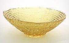 Epidavros Bowl by Hudson Beach Glass (Art Glass Bowl)