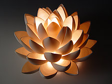 Lotus by Lilach Lotan (Ceramic Table Lamp)