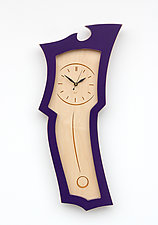 Clock No.3 by Vincent Leman (Wood Clock)