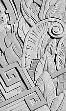 Deco Detail no4 by Joe Gemignani (Color Photograph)