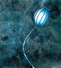 Blue Poppy by Rachel Tribble (Giclee Print)