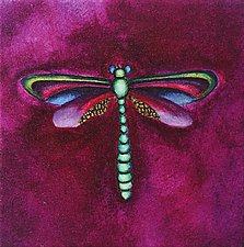 Reef Dragonfly by Rachel Tribble (Giclee Print)