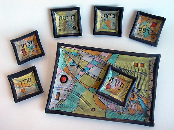 Abstract Space Seder Plate