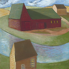 River Bend Farm by Robert Ferrucci (Giclee Print)