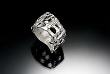 Woven Basket Ring by Chi Cheng Lee (Silver Ring)