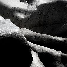 Yuba River Granite No. 1 by Steven Keller (Black & White Photograph)