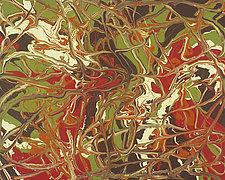 Labyrinth by Cassandra Tondro (Acrylic Painting)