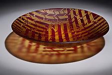 Break Of Day by Varda Avnisan (Art Glass Bowl)
