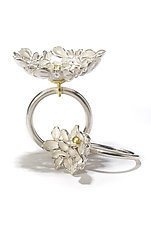 Floral Rings by Analya Cespedes (Gold & Silver Ring)