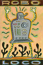 Robo Loco by Hal Mayforth (Giclee Print)