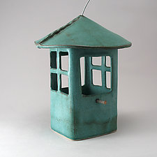Window Bird Feeder by Cheryl Wolff (Ceramic Bird Feeder)