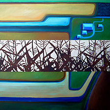 Cornfield by Jason Watts (Oil Painting)