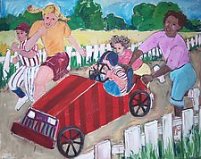 Summertime Racer by Elisa Root (Oil Painting)