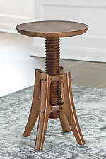 Piano Stool in Walnut by James Pearce (Wood Stool)
