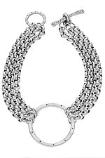 Circle Bracelet by Jodi Brownstein (Silver Bracelet)