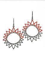 Sun Earrings by Analya Cespedes (Silver Earrings)