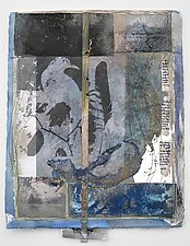 Whispers of the Positive by Wen Redmond (Mixed-Media Wall Hanging)