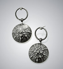Asterias Earrings by Sooyoung Kim (Silver & Stone Earrings)
