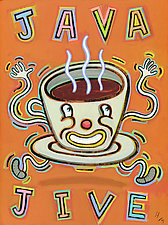 Java Jive by Hal Mayforth (Giclee Print)