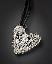 Silver Heart Pendant by Randi Chervitz (Silver Pendant)