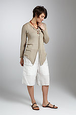 Tuck Cardigan by Sue Peterson  (Knit Sweater)