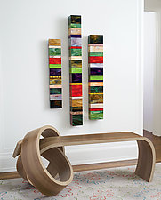Why Knot Bench by Kino Guerin (Wood Bench)