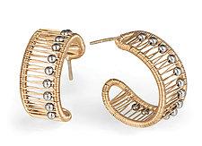Hoop Earrings by Tana Acton (Gold & Silver Earrings)