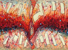 Abstract Art Twenty by Lynne Taetzsch (Acrylic Painting)