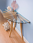 Oxeye Hall Table by Seth Rolland (Wood Hall Table)
