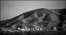 Cemetery, Kyrgyzstan by Adam Jahiel (Black & White Photograph)
