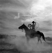 Building a Loop by Adam Jahiel (Black & White Photograph)