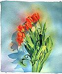 Tulips by Marlies Merk Najaka (Giclee Print)