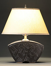 Keystone Lamp by Jim and Shirl Parmentier (Ceramic Table Lamp)