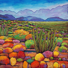 Organ Pipe by Johnathan  Harris (Giclee Print)