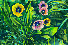 Spring Tulips by Jane Sterrett (Giclee Print)