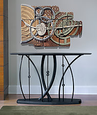 Rhythms by Dean Pulver (Wood Console Table)