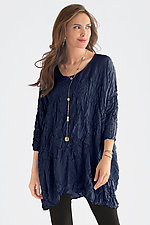Oversized Fit Crushed Silk Tunic by Carol Lee Shanks (Silk Tunic)