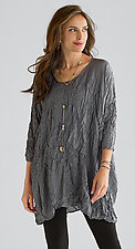 Crushed Silk Tunic by Carol Lee Shanks  (Silk Tunic)