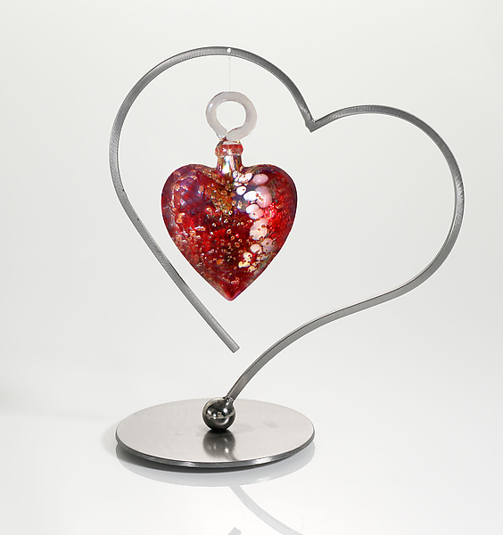 Heart Ornament Display