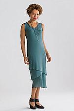 Petite Sleeveless Mesh Dress by Cynthia Ashby  (Knit Dress)