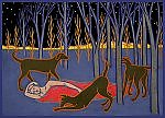 Dream Dogs by Charles Munch (Giclee Print)