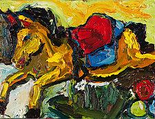 Horsey at Winn Discount 12o13 by Jonathan Herbert (Giclée Print)