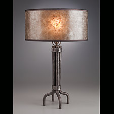 Shaker Lamp by Luke Proctor (Metal Table Lamp)